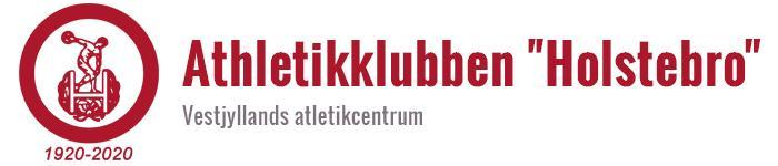 "Athletikklubben ""Holstebro"" – Vestjyllands atletikcentrum"